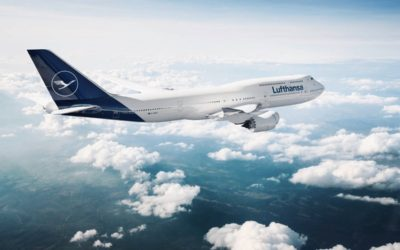 Lufthansa non è più gialla