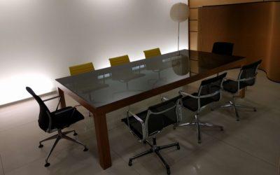 Sala reuniones, un tema de tiempo y espacio