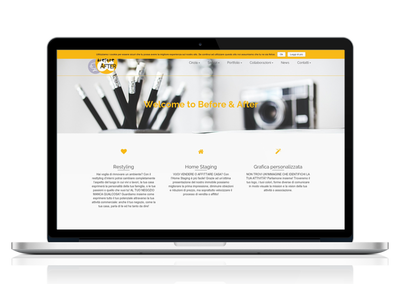 before & After web page by FAB813